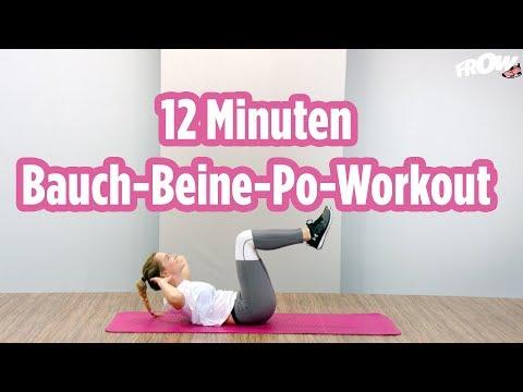 12 Minuten Bauch-Beine-Workout