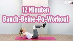 12 Minuten Bauch-Beine-Workout - Daria zeigt wie einfach es ist fit zu bleiben