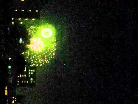 The fireworks display  of Itabashi-ku  in 2012