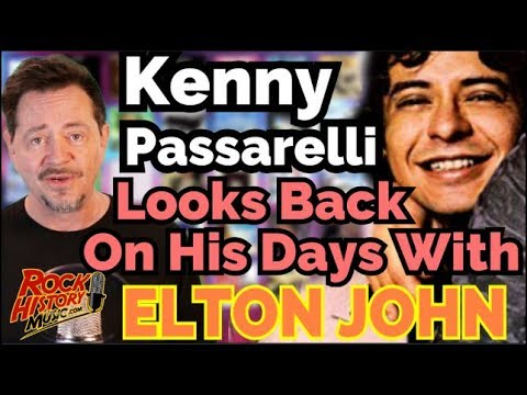 Kenny Passarelli Remembers Elton John's Rock of The Westies, Blue Moves & Dee Murray