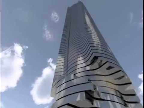 Flexible & Twistable Building 'How Imagine' !!