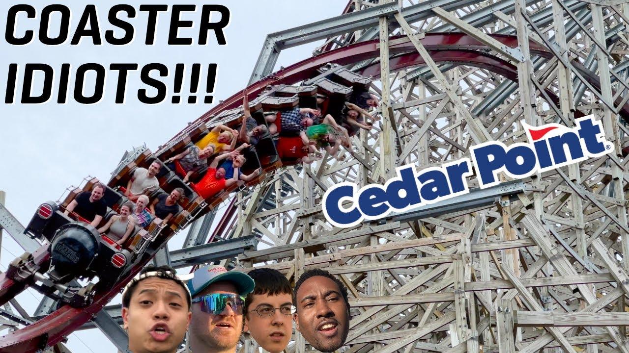 Coaster Idiots Go to Cedar Point (June 2021) Ft. McLovin!!