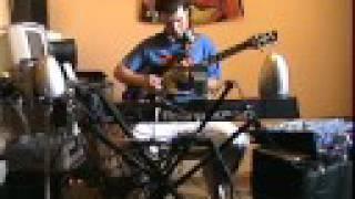 Guitar Suck (Bumblefoot) Steackmike One Man Band Jam