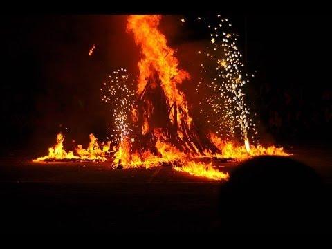 Hoạt cảnh lửa trại Trường THPT Tam Phú năm 2012- 2013