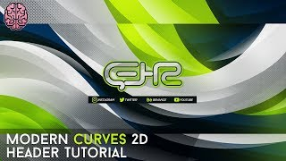 Modern Curves 2D (Waves) Header Tutorial by Qehzy