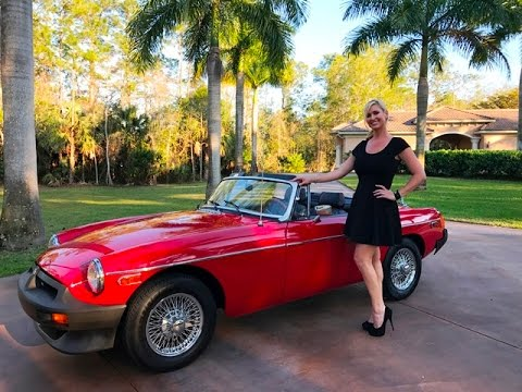2017 Corvette For Sale >> SOLD 1980 MG MGB Roadster, over 25k invested, mint, leather for sale by Autohaus of Naples - YouTube