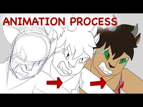 Animation Process// Heartless MEME (Firealpaca+imovie)