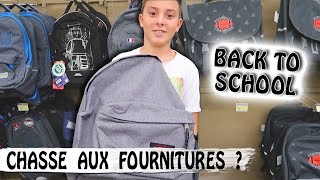 CHASSE AUX FOURNITURES SCOLAIRES / Back To School / Family vlog