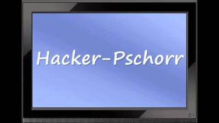 "How to Pronounce ""Hacker-Pschorr"" correctly"