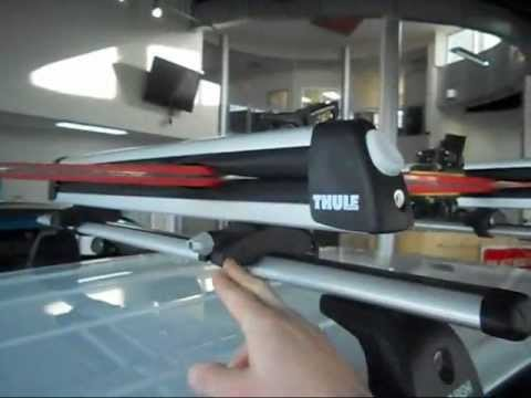 Mitsubishi RVR and Outlander roof rack attachment (THULE ...