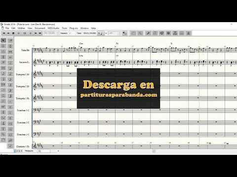 pideme-la-luna---leo-dan-ft-la-original---partituras-para-banda