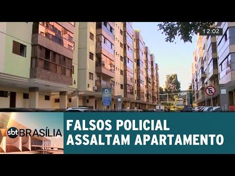 Falsos policiais fazem limpa em apartamento