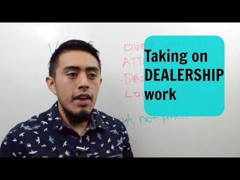 Starting A Car Detailing Business:  DEALERSHIP work?!