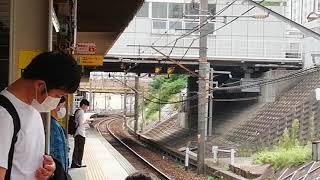 幕回しサービスをしてくれました!。681系特急しらさぎ回送列車金山4番線通過