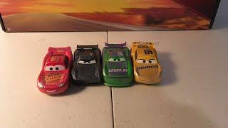 Disney Pixar cars 3 beach racing 4 pack review