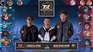BOSS ALL STAR vs BOSS REVALUTION | MATCH 1| SOLOZ dan FREDO SAMEON kembali Bersatu!!!