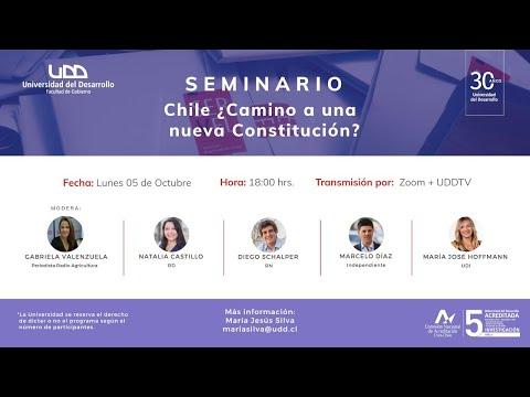 Seminario: Chile ¿Camino a una nueva Constitución?