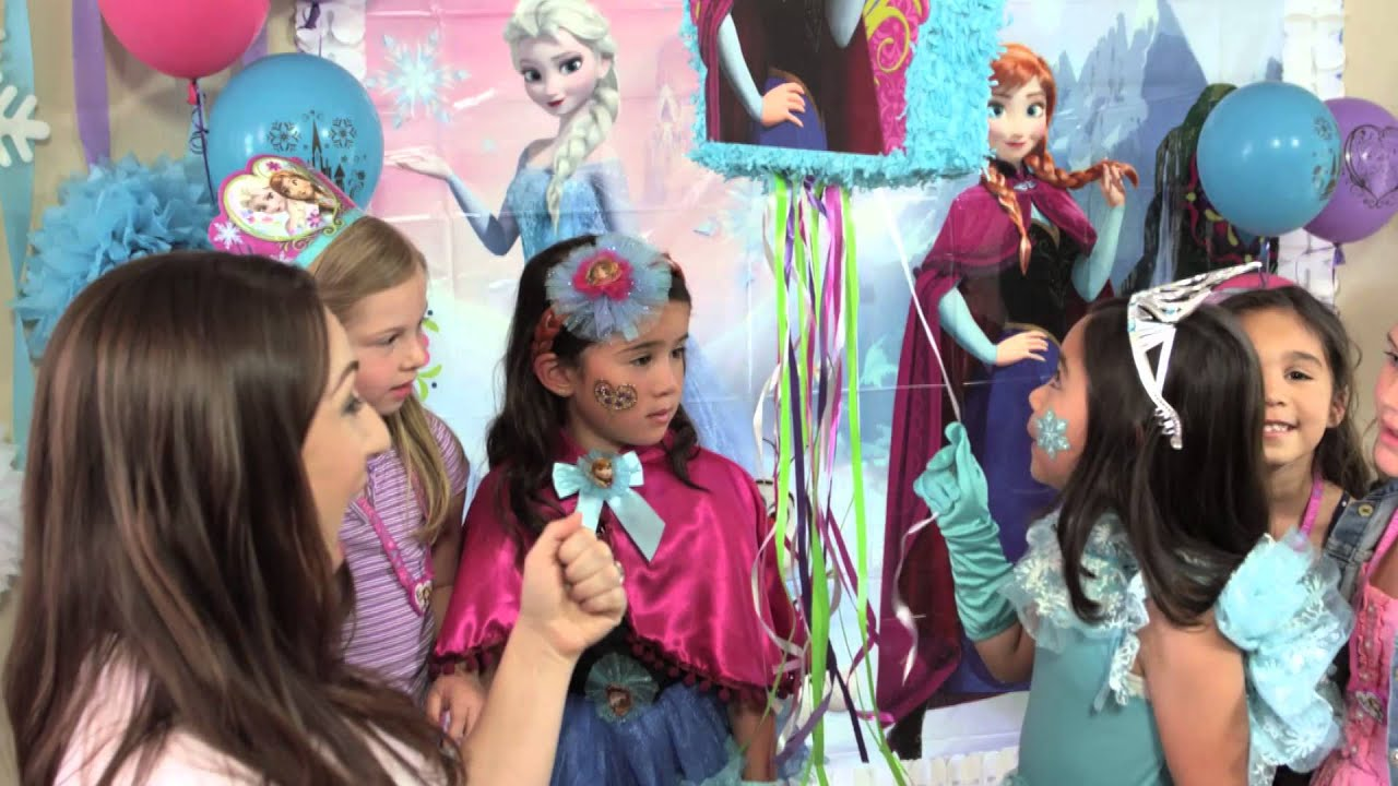 Frozen birthday party ideas youtube stopboris Image collections