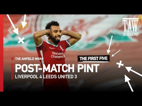 Liverpool 4 Leeds United 3 | Post-Match Pint Teaser