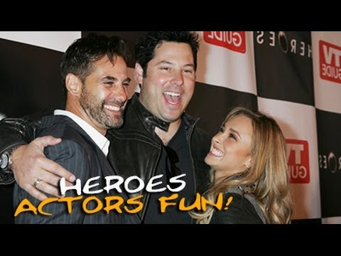 """The Actors & Actresses of Heroes - [""""Starstrukk"""" by 3OH!3 (feat. Katy Perry)]"""