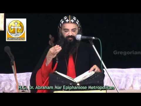 Good Friday Message by H.G. Dr. Abraham Mar Epiphanios Metropolitan