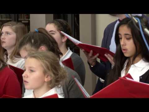 """Christmas Cheer: Wayside Academy """"Hallelujah"""""""