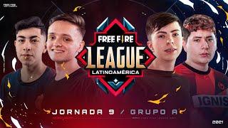 ¡Jornada 9 de la Free Fire League 2021! 🔥 | Grupo A - Apertura