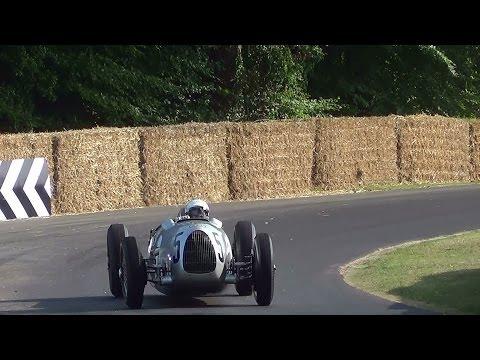 Auto Union Racing Cars V12 & V16 Sounds.