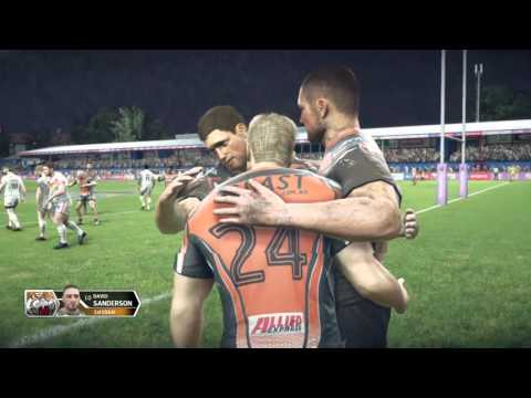 Rugby League Live 3 tigre vs dragon