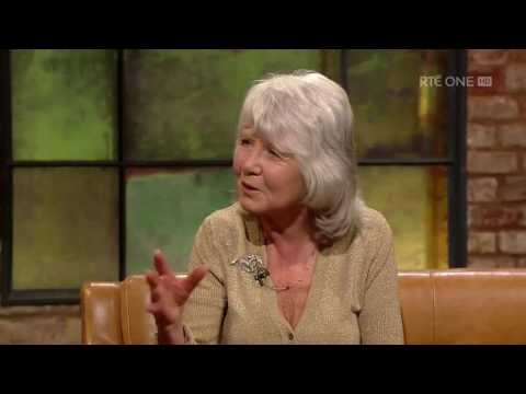 Jilly Cooper on sharing a heavenly kiss with Sean Connery | The Late Late Show | RTÉ One