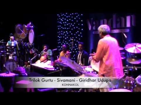 Konnakol : Trilok Gurtu - Sivamani - Giridhar Udupa