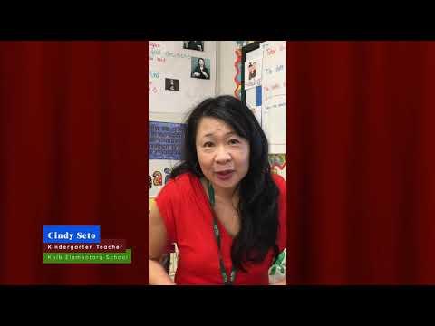 Kolb Elementary School - Meet Kindergarten Teacher, Cindy Seto