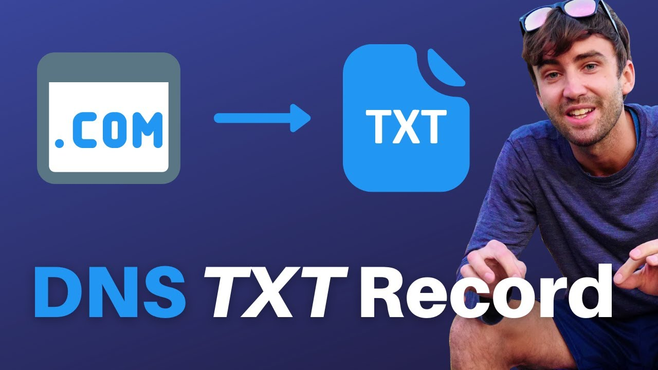 What exactly is a TXT DNS record? (how to do a lookup)