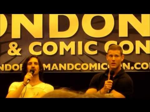 Eoin Macken and Tom Hopper Panel LFCC July 2013