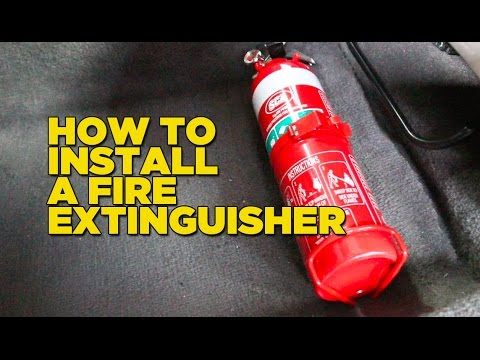 How To Install A Fire Extinguisher In Your Car  Vedc