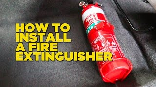 How To Install A Fire Extinguisher In Your Car(, 2016-04-20T06:27:40.000Z)