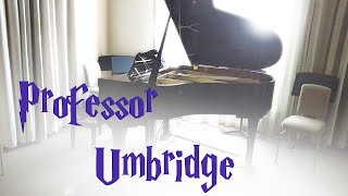 Professor Umbridge -Harry Potter - Piano Cover