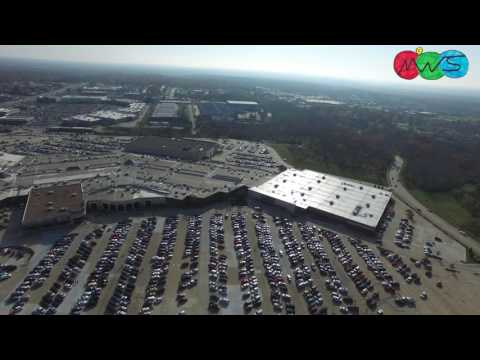 Flying over The Columbia Mall & Rocheport | 11-26-2016