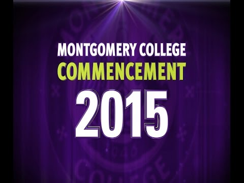 Montgomery College Commencement 2015