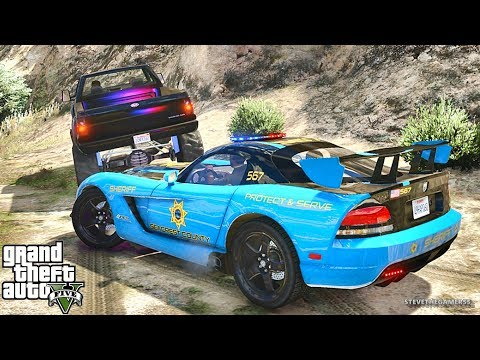 GTA 5 LSPDFR 0.3.1 - EPiSODE 683 - LET'S BE COPS - SUPERCARS PATROL (GTA 5 PC POLICE MODS)