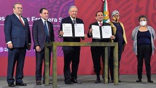 Zona Libre en fronteras norte y sur. Conferencia presidente AMLO