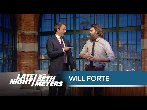 Will Forte Talks Pranks in the SNL Offices - Late Night with Seth Meyers