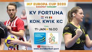 IKF ECup 2020 KV Fortuna - Kon. Kwik KC