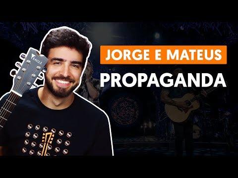 PROPAGANDA - Jorge E Mateus (aula De Violão Simplificada)