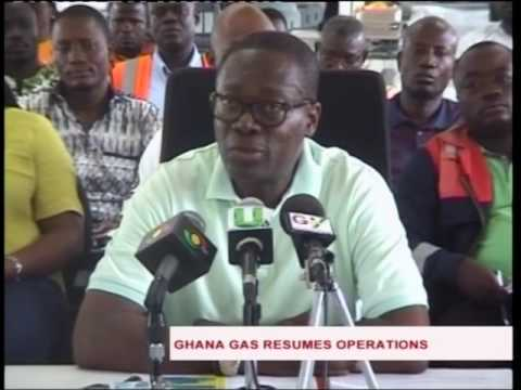 Ghana Gas processing plant at Atuabo resumes operations - 11/9/2016