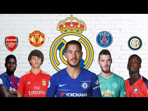 Latest Transfer News: Hazard to Real Madrid, De Gea to PSG and more