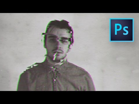 Glitch Effect in Photoshop (zonder plugin)
