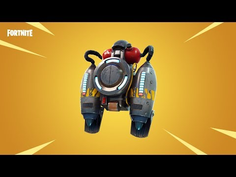 Fortnite JetPack+SolidGold V2 Update