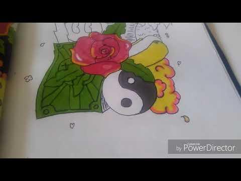 TUTO dessin doodle art speedrawing