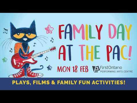 Family Day at the PAC! 2019